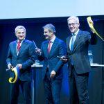 ABB:s forskningscenter firar 100 år i närvaro av Kung Carl XVI Gustaf, ABB:s koncernchef Spiesshofer och energiminister Baylan