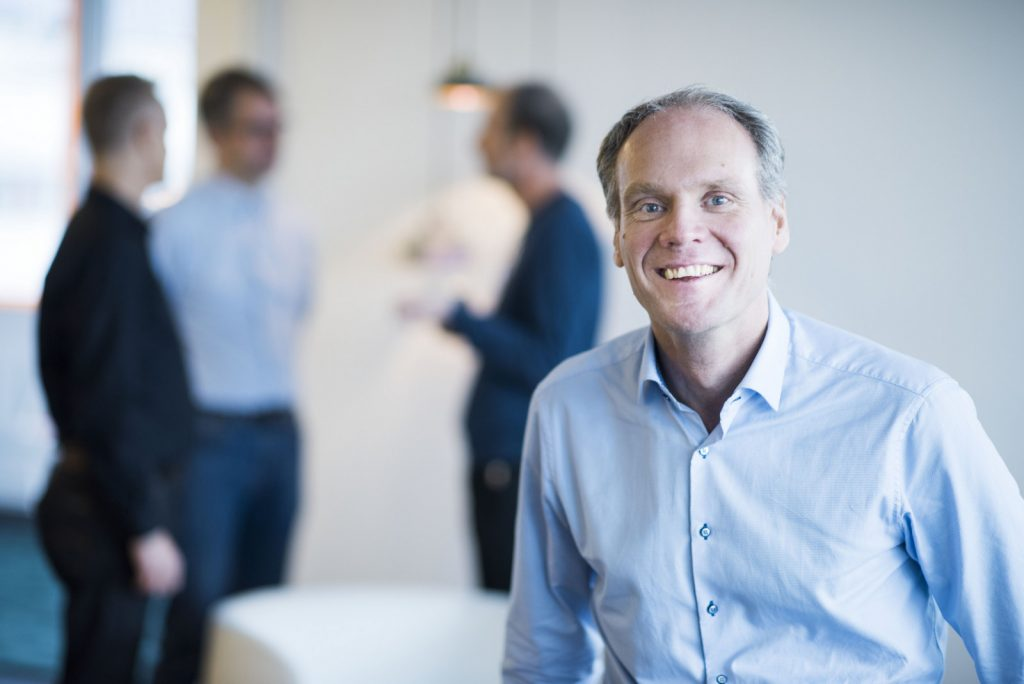 """""""We are excited to conclude that the interest for SynerLeap is even larger than expected, and that the first set of companies are now joining from all parts of Sweden."""" – Peter Löfgren, Managing Director of SynerLeap.  Photographer: Jonas Bilberg"""