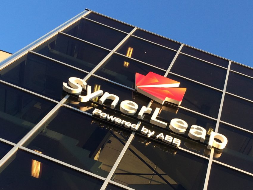 SynerLeap sign