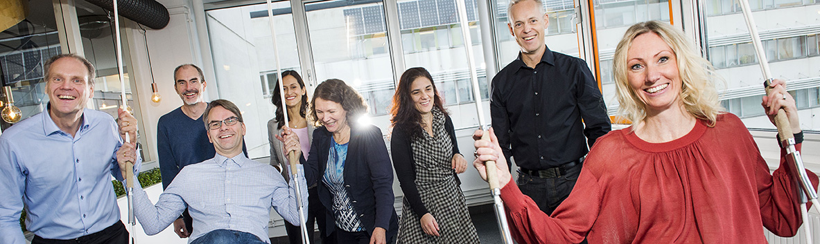 The SynerLeap team. Photo Jonas Bilberg