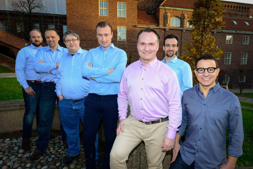 From left: Niclas Jansson, Paul Panotzki, Per Persson, Johan Hoffman, Sebastian Desand, Aurelién Larcher, Rodrigo Vilela de Abreu. Photo: Sauman Ng Agerberg