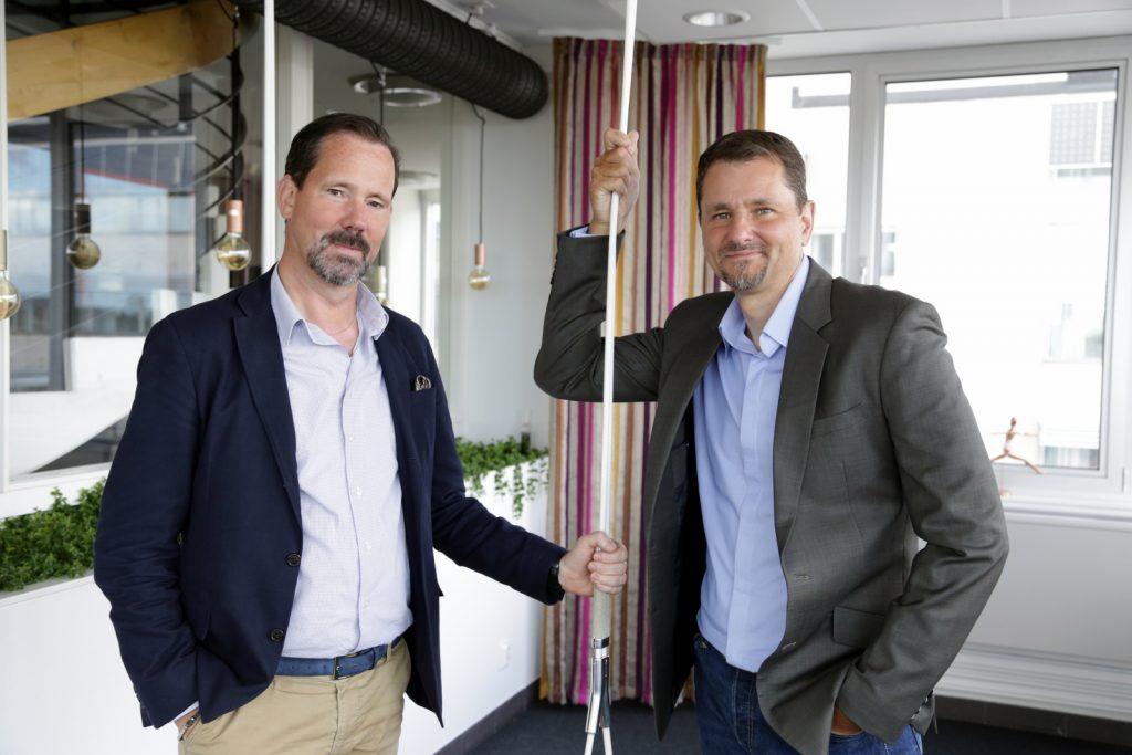 Niklas Zandelin and Thomas Weuthen from eze System
