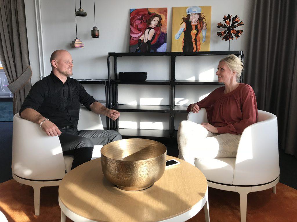 Erik Jonuks, Create Business Incubator and Camilla Kullborg, SynerLeap