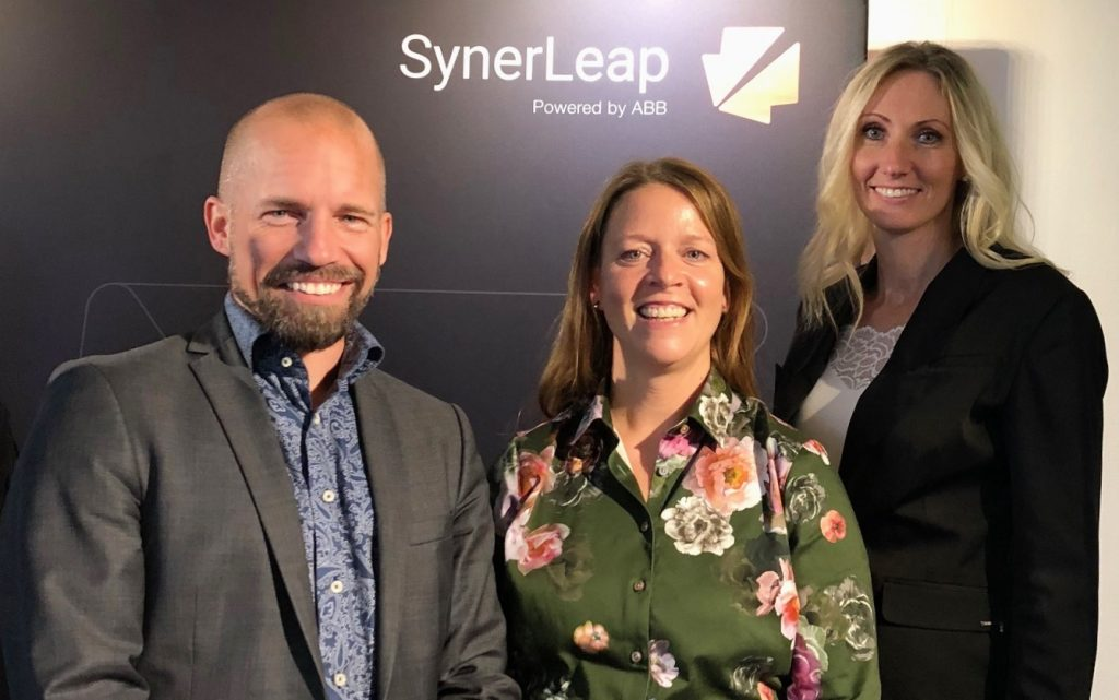 Patrik Dahlqvist, Insplorion, with Åsa Grönqvist and Camilla Kullborg, SynerLeap.
